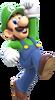 Luigi Artwork 2 - Super Mario 3D World