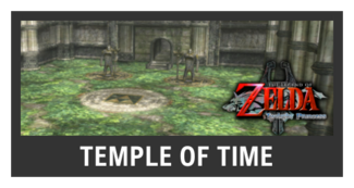 Super Smash Bros. Strife stage box - Temple of Time