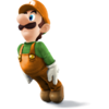 Super Smash Bros. Strife recolour - Luigi 2