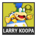 Super Smash Bros. Strife character box - Larry Koopa