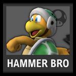Super Smash Bros. Strife Assist box - Hammer Bro.