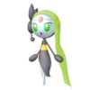 Super Smash Bros. Strife recolour - Meloetta-Aria 7