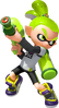 Super Smash Bros. Strife recolour - Inkling 6