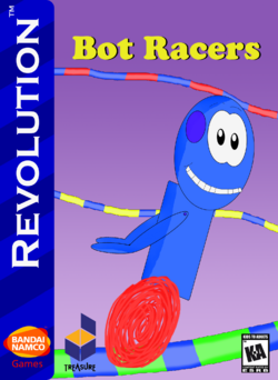 Bot Racers Box Art 1