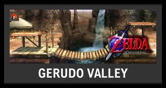 Super Smash Bros. Strife stage box - Gerudo Valley