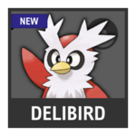 Super Smash Bros. Strife Pokémon box - Delibird