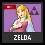 Super Smash Bros. Strife character box - Zelda SS