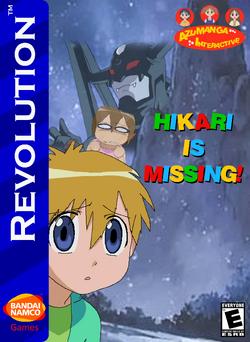 Hikari is Missing Box Art 1