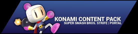 Super Smash Bros. Strife portal image - Konami DLC