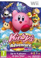 Kirby's Adventure Wii portada