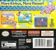 Kirby Mass Attack portada USA rev