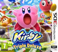 Kirby Triple Deluxe - Cover EUR