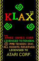 Klax Atari Lynx captura1