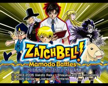 Zatch Bell! - Mamodo Battles capura 1.jpg