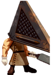 Track & Field DS Pyramid Head