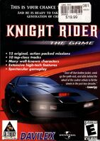 Knight Rider - The Game portada PC