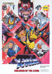 X-Men - Children of the Atom arcade flyer.png