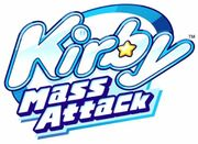Kirby Mass Attack - logo