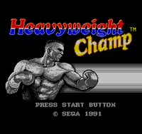 Heavyweight Champ sms - título
