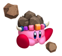 Kirby's Return to Dream Land - Piedra