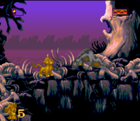 The Lion King SNES Captura 03