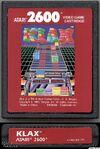 Klax Atari 2600 cartucho