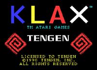 Klax Spectrum captura1
