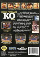 George Foreman's KO Boxing Genesis reverso
