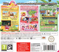 Kirby Triple Deluxe - Cover EUR back