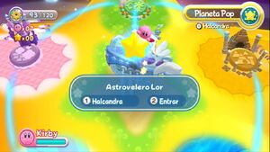 Kirby's Return - Mapa