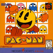 Pac-Man portada Neo-Geo Pocket Color