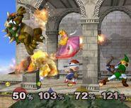 Super Smash Bros Melee - captura 4