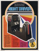 Night Driver folleto