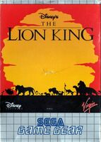 The Lion King portada GameGear Eur
