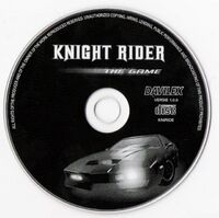 Knight Rider - The Game CD PC