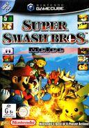 Super Smash Bros Melee - portada AUS