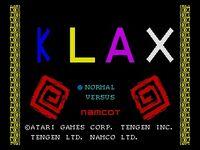 Klax Mega Drive captura1