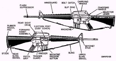 M 16 Rifle on m16 sear blueprint