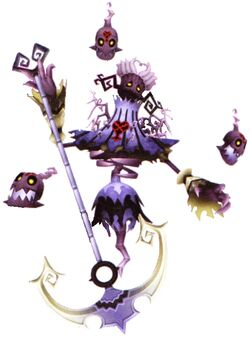 Cursed Grim Reaper (Kingdom Hearts)