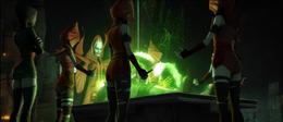 Nightsisters ceremony