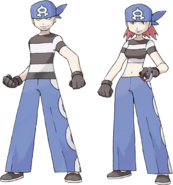 Ruby Sapphire Team Aqua Grunts