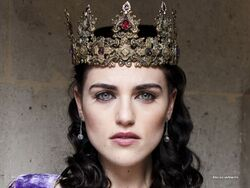 Crowned Morgana Pendragon