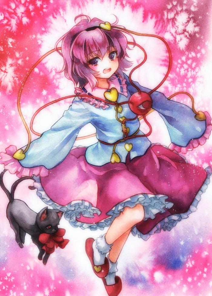 satori komeiji villains wiki fandom powered by wikia