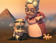 Jimmy Neutron Calamitous with Grandma Taters