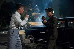 Cohen O'Mara fistfight
