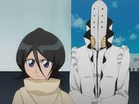 Aaroniero behind Rukia
