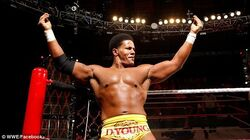 Darren Young dancing