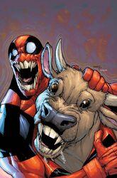 Deadpool and Cow