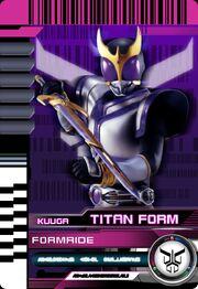 Form Ride Kuuga Titan