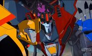 Starscream and Bumblebee (RID)